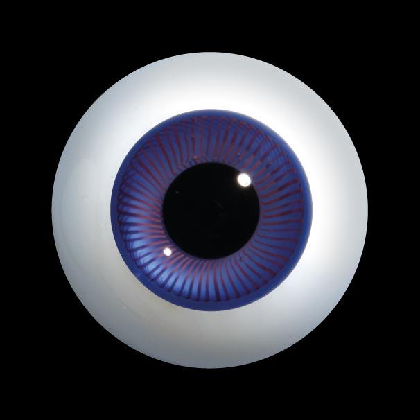 Round Glass Eyes