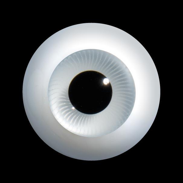 D24 人形のための丸いガラスの目