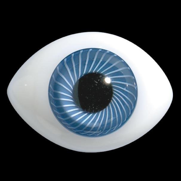 D31 Occhi di vetro ovali regolari per le bambole