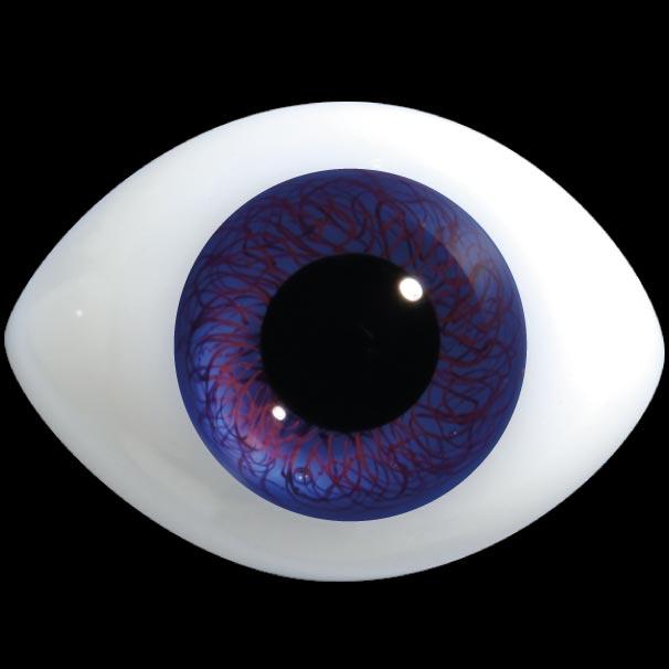 D400HD Alta Definizione regolari occhi ovali di vetro per bambole